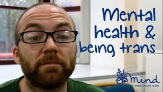 Mental health & being trans | Ed's #mentalhealthselfie